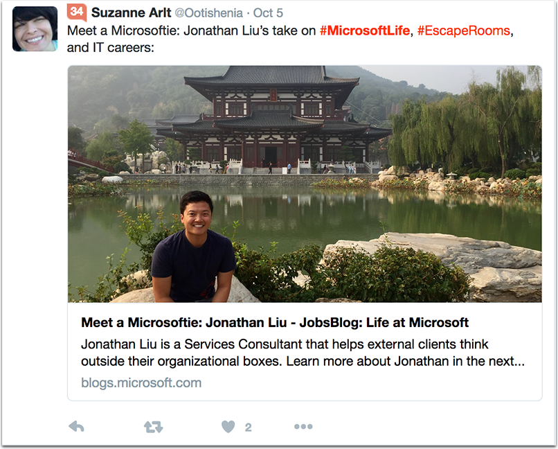 microsoft-1.png  How to Attract Talent With a Company Hashtag: 10 Inspiring Examples microsoft 1