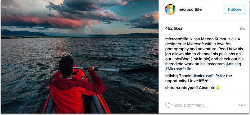 microsoftlife.png  How to Attract Talent With a Company Hashtag: 10 Inspiring Examples microsoftlife