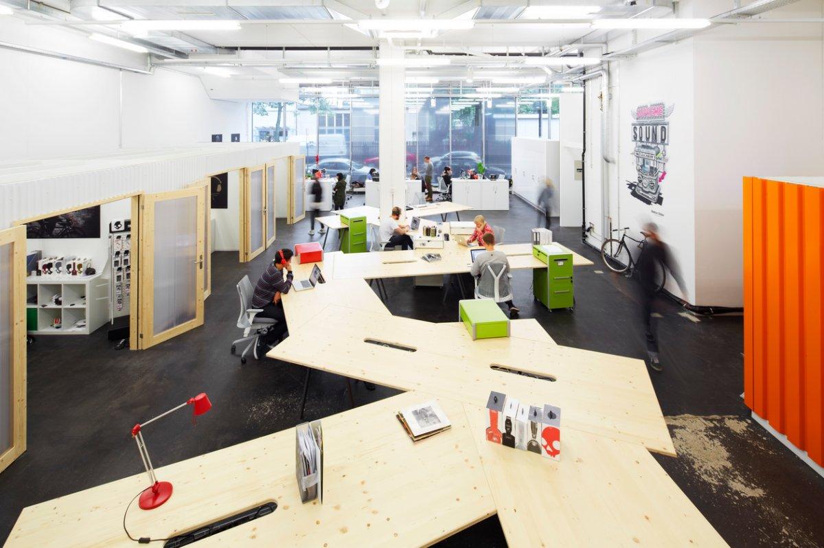 Open floor plan office space google search revamped in