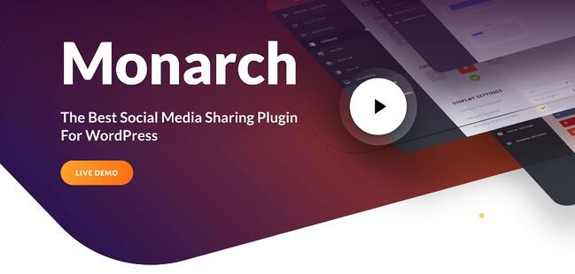 mproduct page for the WordPress plugin monarch