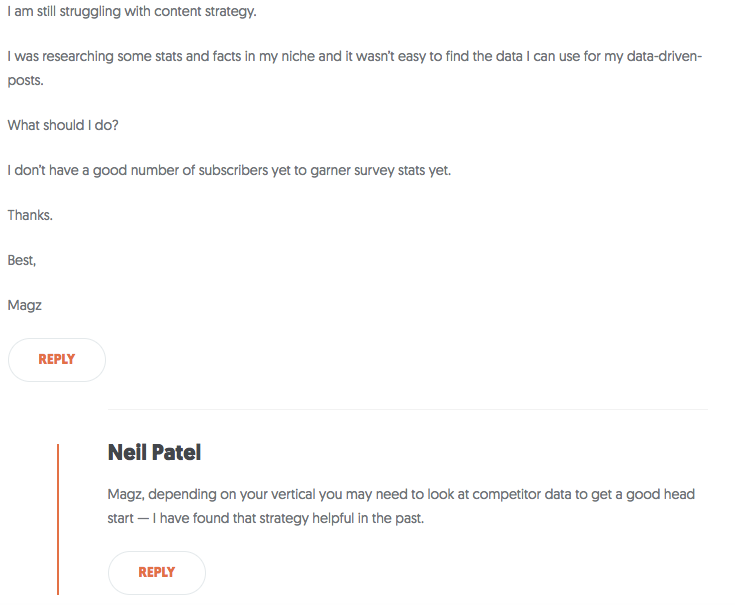 nailpatelcomment.png  15 Creative Lead Generation Ideas to Try nailpatelcomment