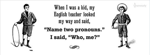 name-two-pronouns grammar joke