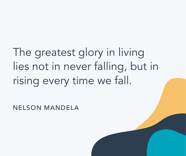 Famous quote by Nelson Mandela