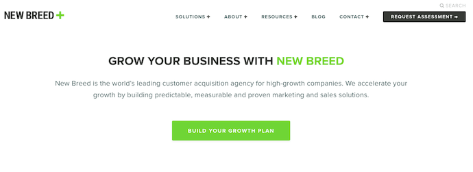 new-breed-marketing-landing-page