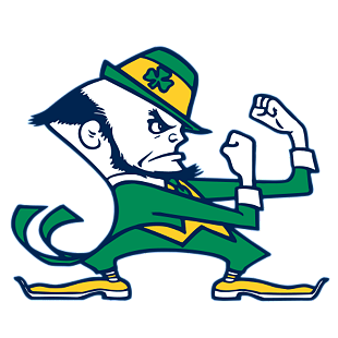 notre-dame-fighting-irish.png  12 of the Best College Logo Designs (And Why They're So Great) notre dame fighting irish