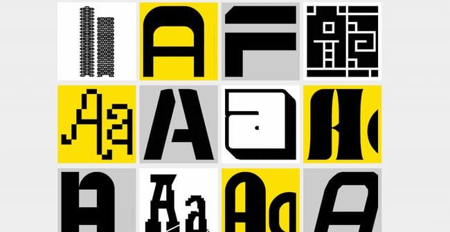 free online font generators: Fontstruct