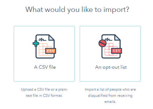 import contacts as an opt out list in Hubspot.png