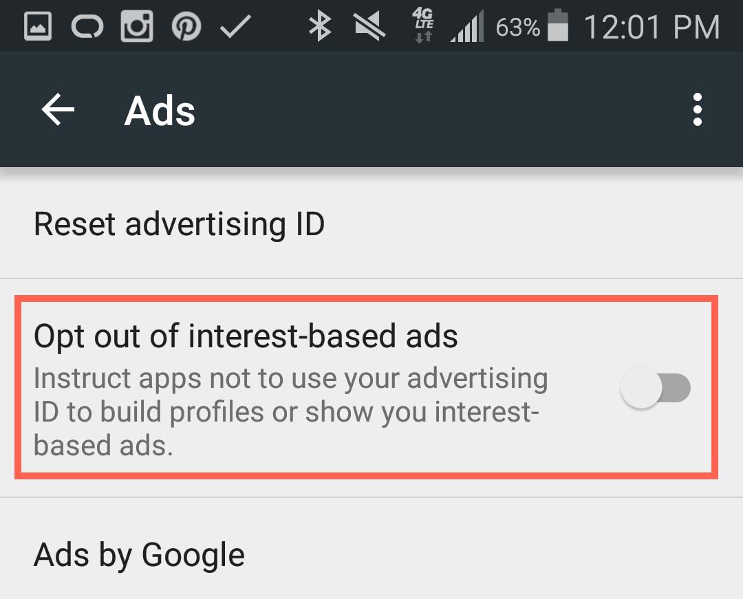 отказаться-на основе интересов-объявления-андроид.ПНГ