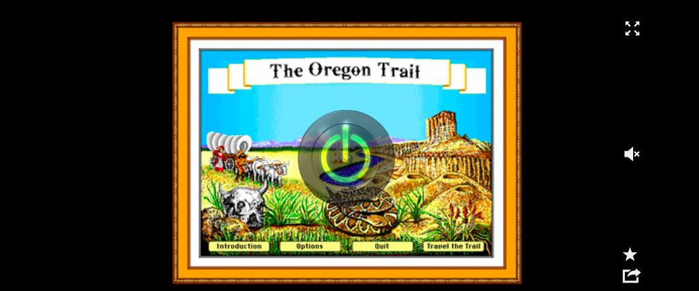 wayback machine oregon trail