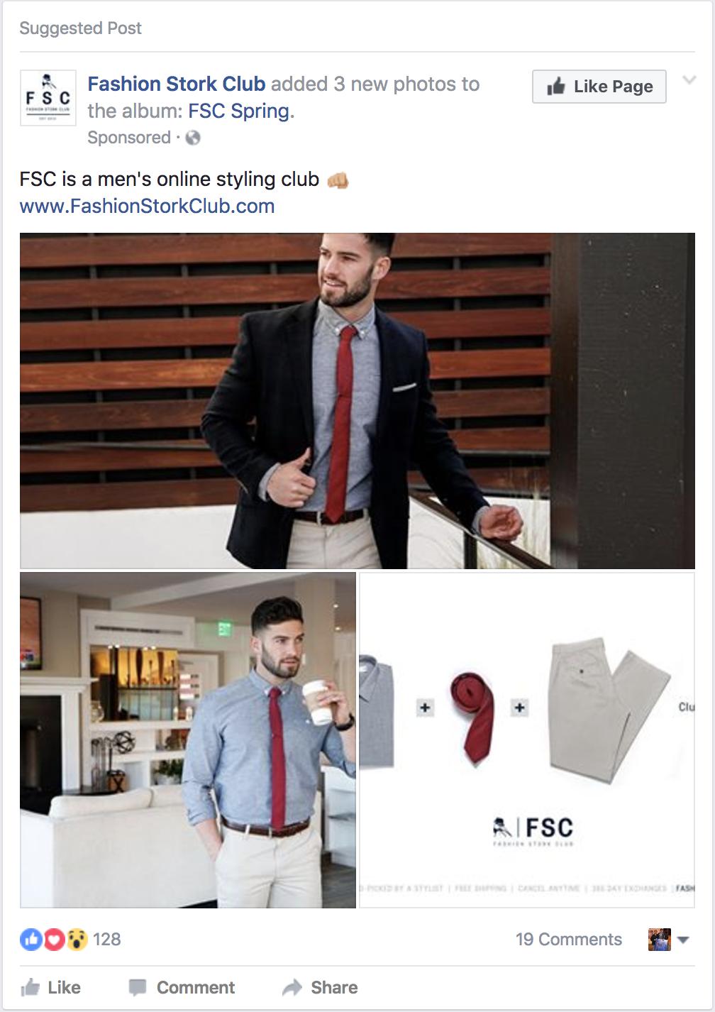 Facebook Post Engagement