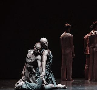 Paris Opera Ballet Instagram account showing male dancers