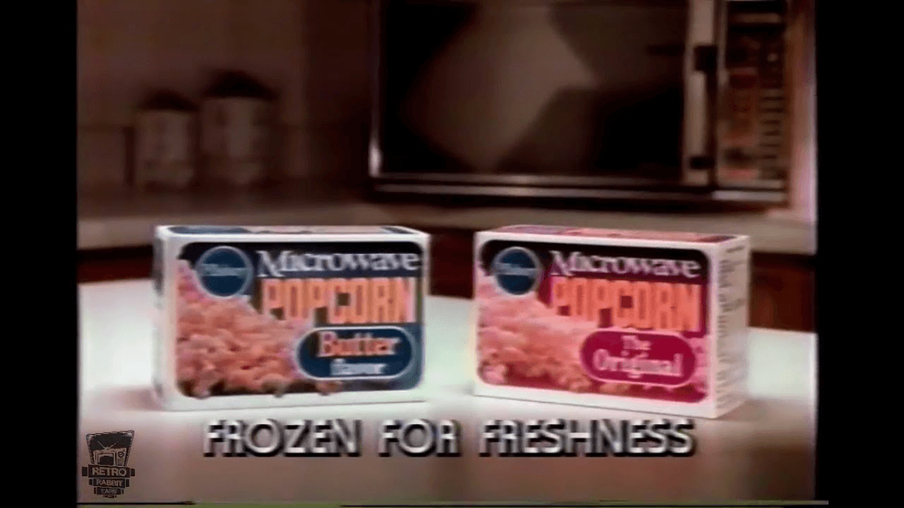Pillsbury's Brand Extension -- Frozen Microwave Popcorn