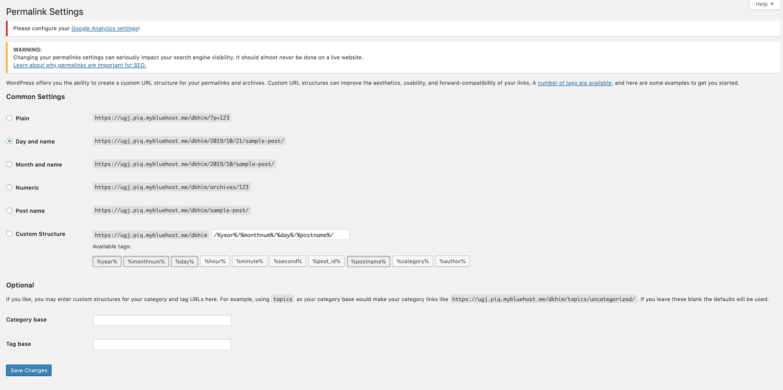 permalink settings for best 404 redirect plugins WordPress
