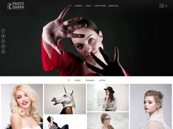 photograph wordpress theme