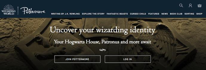 pottermore-website