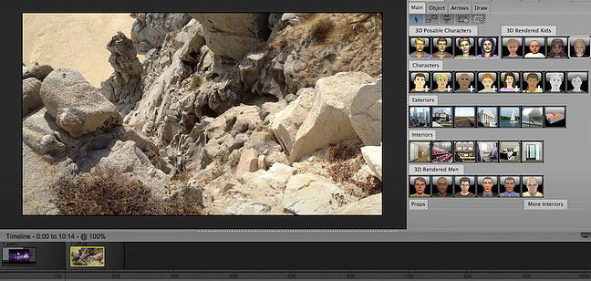 Storyboarding software by PowerProduction