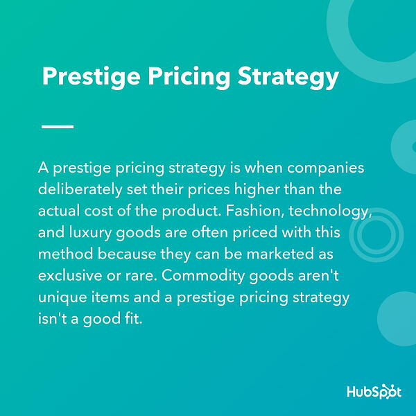 prestige-pricing-strategy-definition