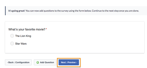 how to create a survey on facebook step 5
