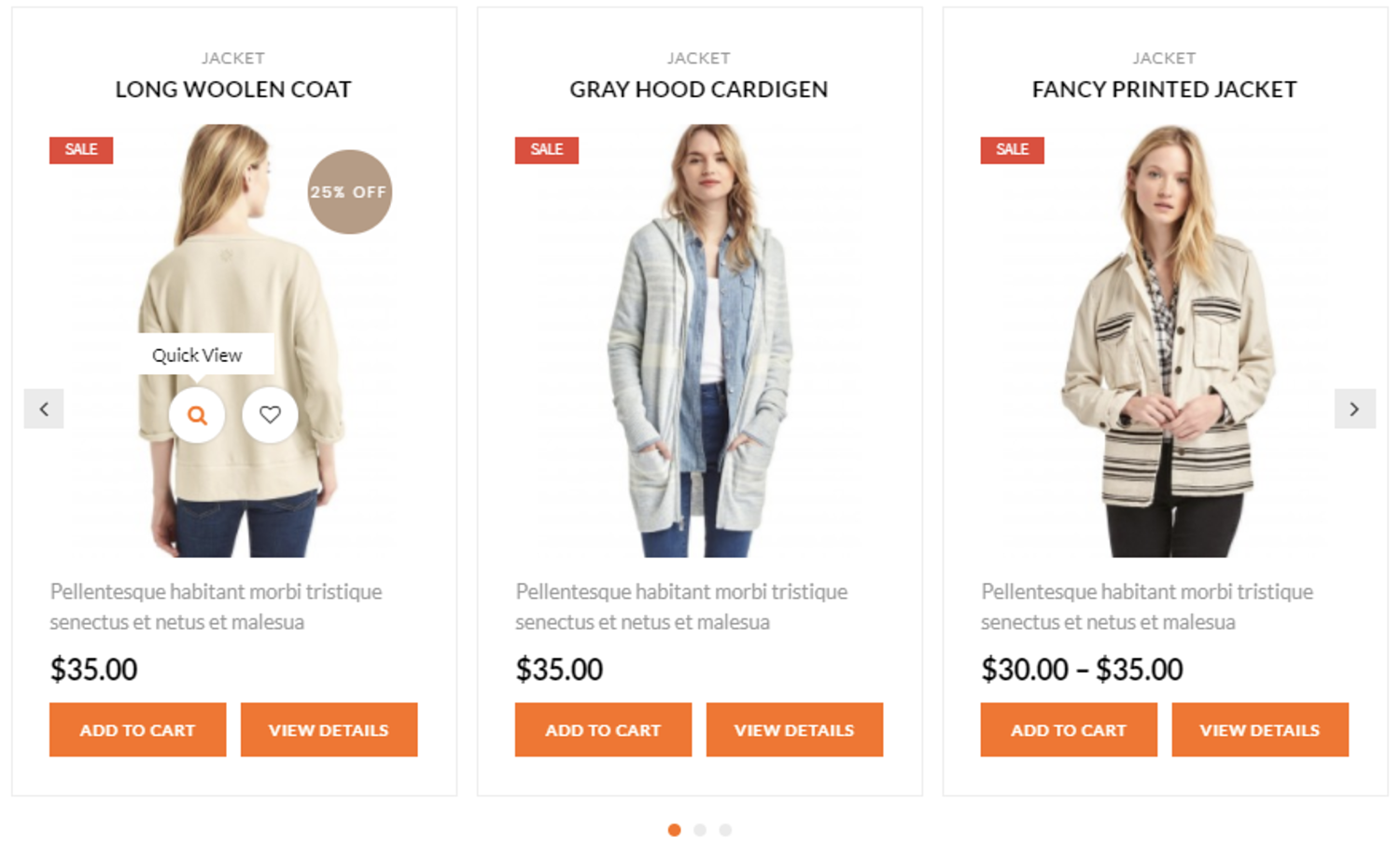 product slider example for Best WooCommerce product slider plugins