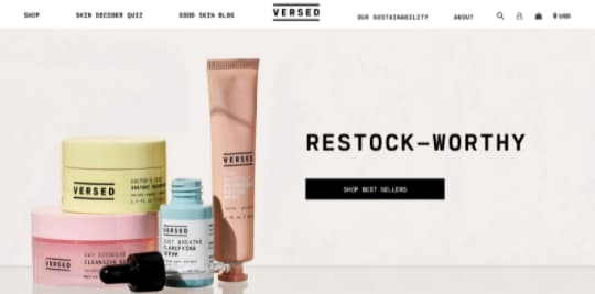 Design elements with products