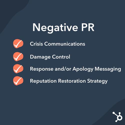 Public Relations: Negative PR Strategies