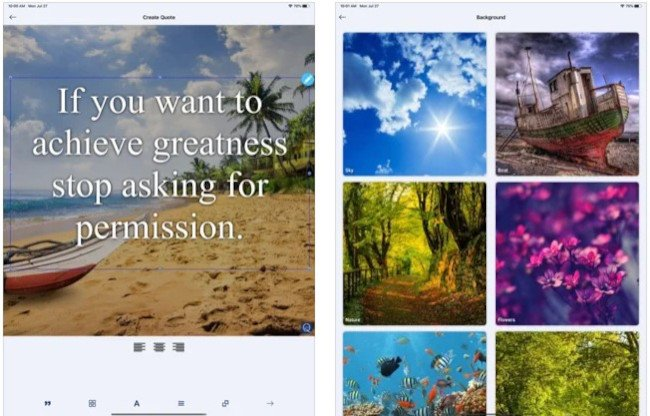 quote maker app for instagram quotes