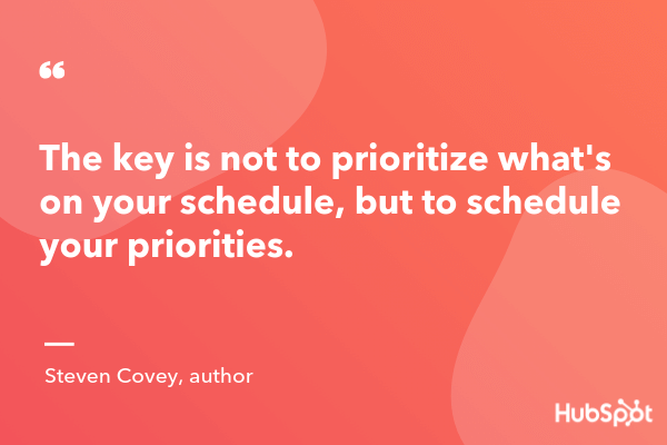 prioritization quotes