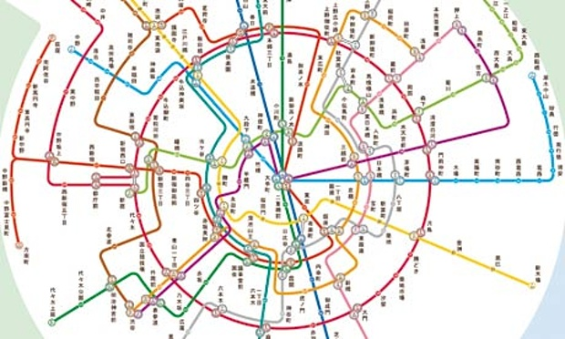 Tokyo Subway Map.The Best Worst Subway Map Designs From Around The World