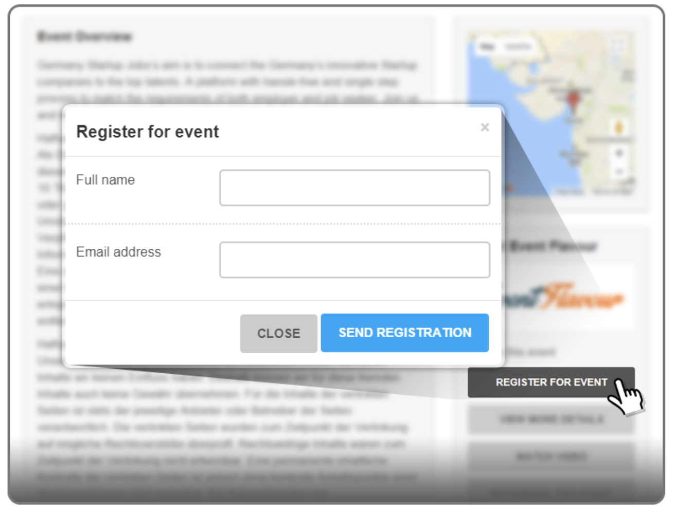 registrations add-on for WP Event Manager plugin review