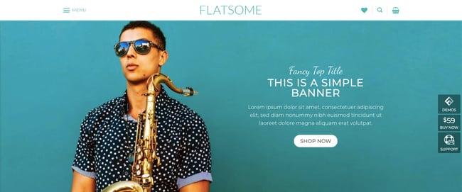 responsive ecommerce theme Flatsome