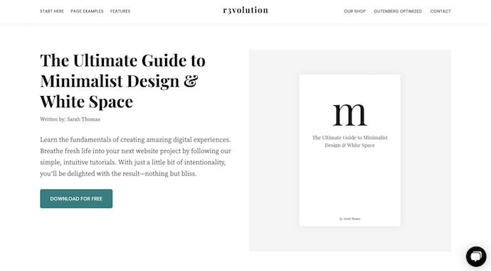 revolution-pro-simple-wordpress-theme
