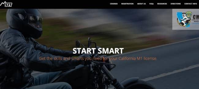rider training homepage - avada theme example with slider image