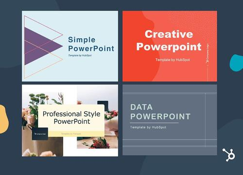 sales presentation template by HubSpot