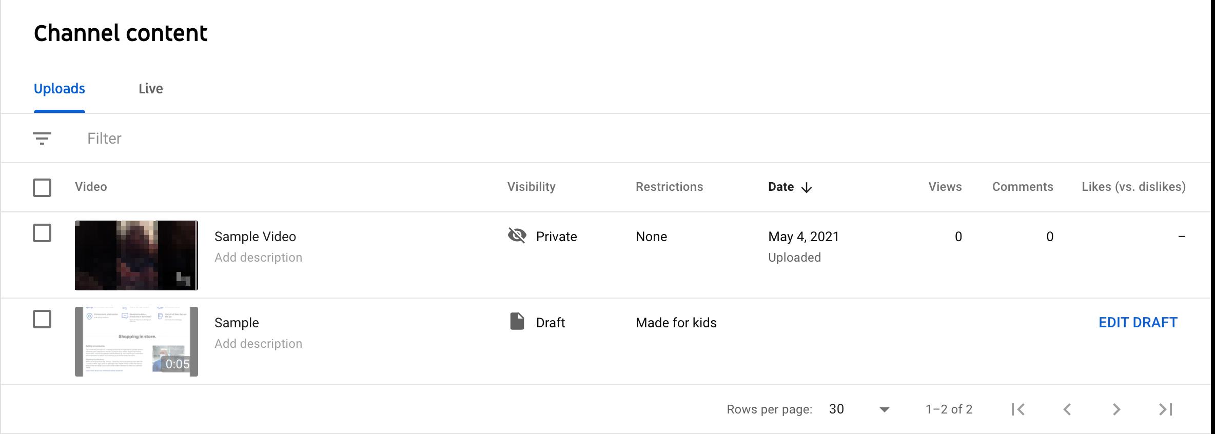 youtube studio editor channel content dashboard