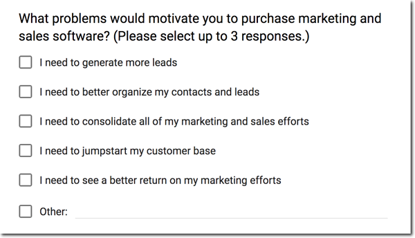 net promoter score survey question example