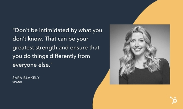 sara blakely quote that reads