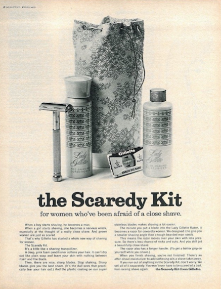 Women Shave Because of Marketers: How the Industry Created