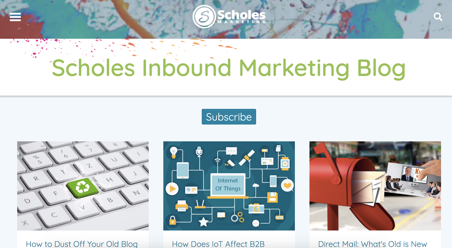 scholes-marketing-blog