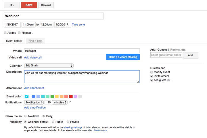 How to Insert Google Calendar, Apple Calendar & Outlook