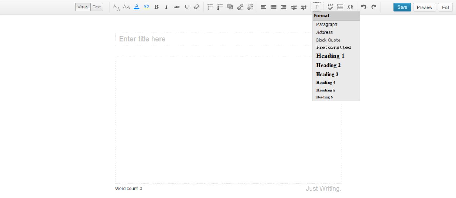 just-writing-wordpress-plugin