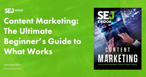 repurposed blog content into an ebook example from search engine journal