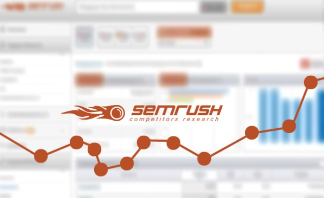SEMrush offers keyword research tools.