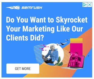 semrush google display ad example that reads