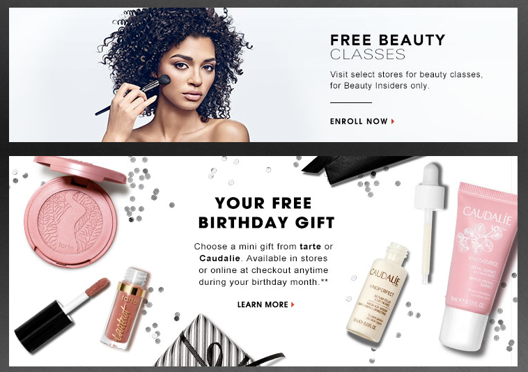 sephora cusotmer loyalty example