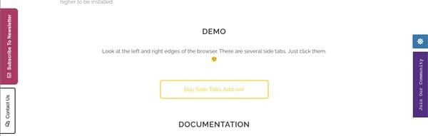 slide tabs wordpress tabs