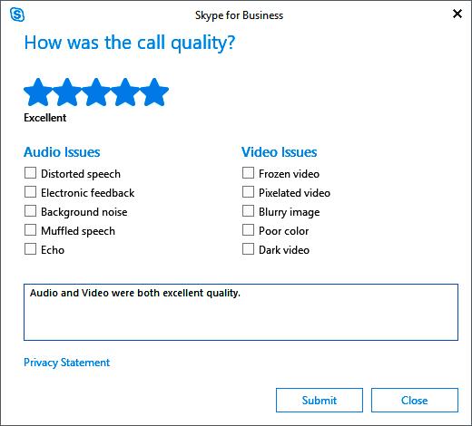 Skype customer satisfaction survey