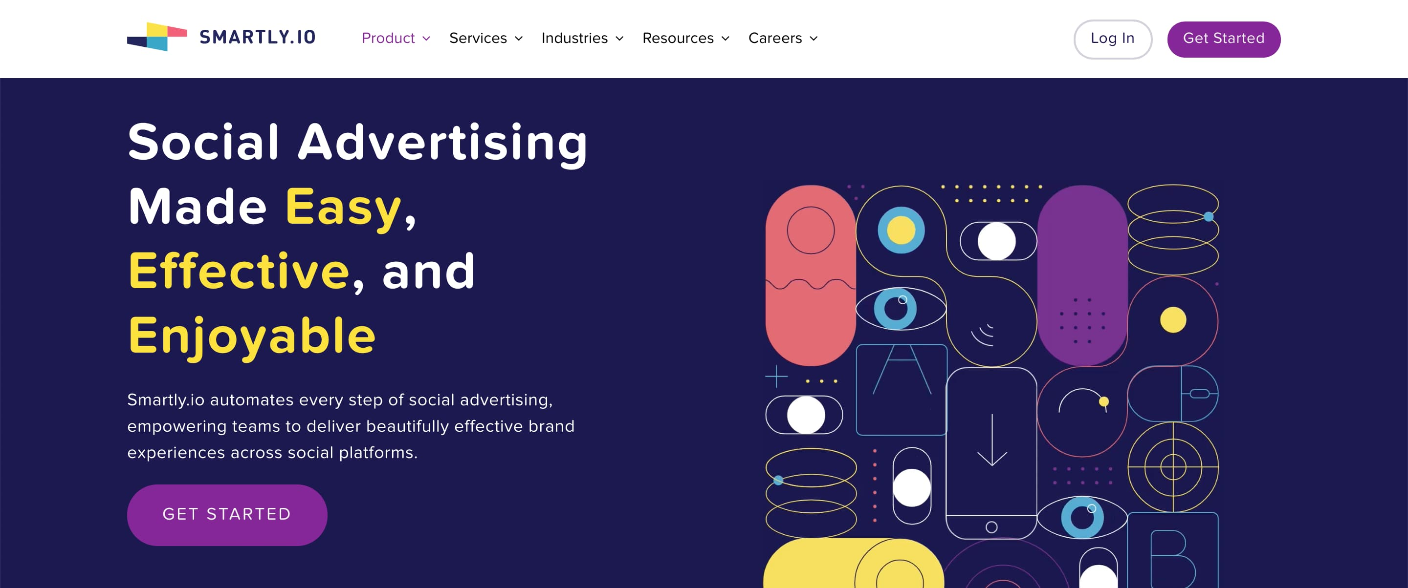 smartly.io advertising management system example