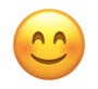Snapchat smiling face emoji to indicate best friends