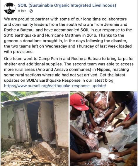 social entrepreneurship example: SOIL Haiti environmental safety socialpreneurship venture