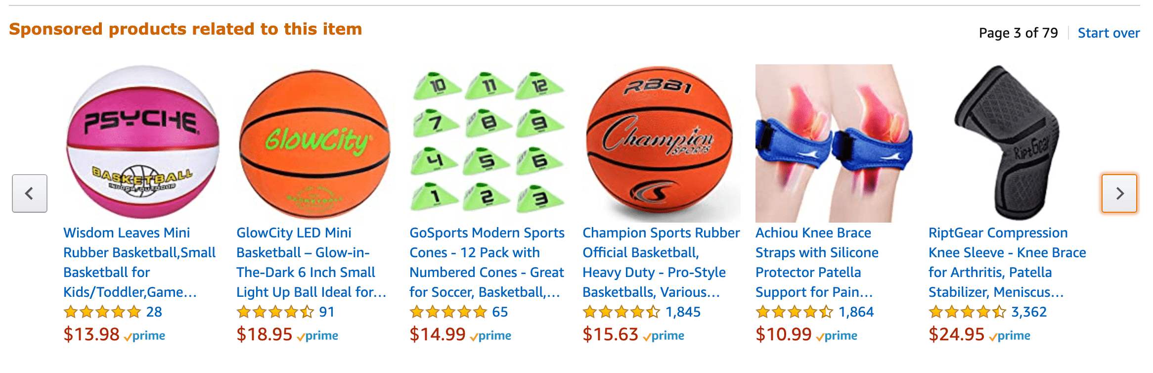 sponsored products related to basketball on amazon